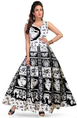 12d38de590 White Gowns - Buy White Gowns Online at Best Prices In India ...