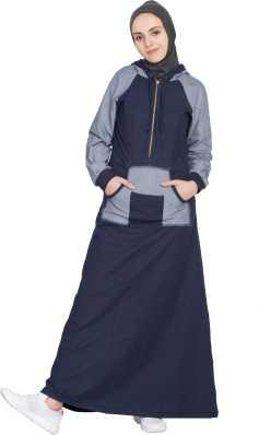 cf7d0895da Basic Indigo Denims Abayas Burqas - Buy Basic Indigo Denims Abayas ...