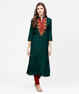 288c3f006c3e26 Green Kurtas Kurtis - Buy Green Kurtas Kurtis Online at Best Prices In  India