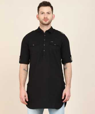 26e8cc8608 Kurtas for Men - Buy Mens Kurtas Pajamas Online | Designer Kurtas at Best  Prices in India