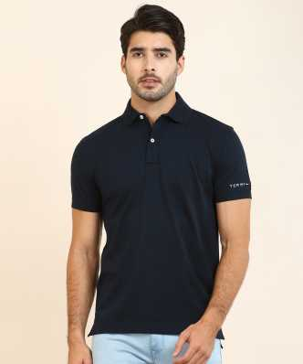 0d0475ab4 Printed Men Round or Crew Blue T-Shirt · ₹1,599. Tommy Hilfiger. Solid Men  Polo Neck Dark ...