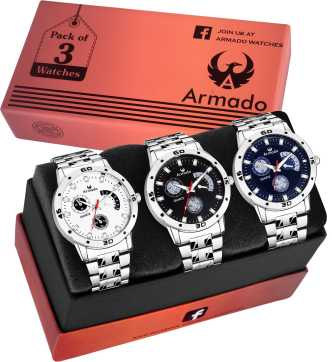 ce9e430f38f1ca Silver Watches - Buy Silver Watches online at Best Prices in India |  Flipkart.com