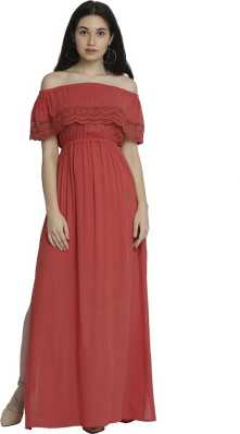 376a14f4a083 Off the Shoulder Dress - Buy Off the Shoulder Dresses Online at Best ...