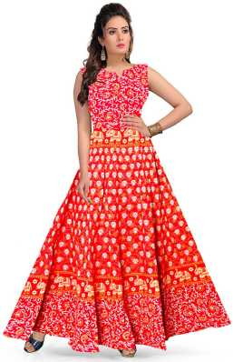 b6f52f11fb9 Red Gowns - Buy Red Gowns Online at Best Prices In India