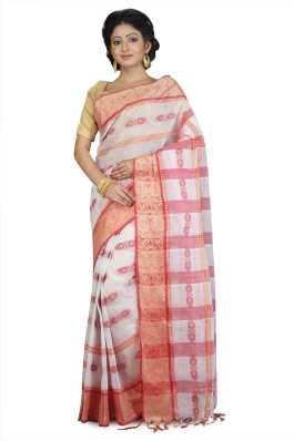 d353789b25 White Saree - Buy White Sarees Online at Best Prices In India ...