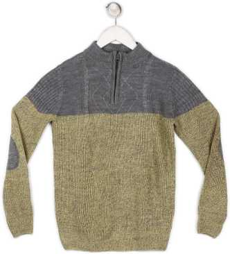 9d5f8ad6f Sweaters For Boys - Buy Boys Sweaters Online At Best Prices In India ...