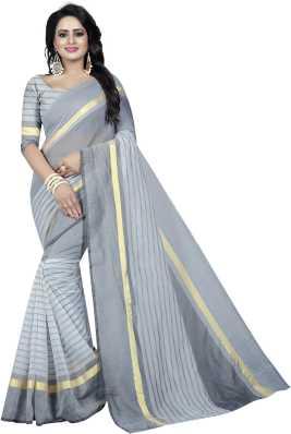 3d61fad73a Cotton Sarees Online Shopping | Pure Plain & Printed Fancy Cotton Sarees -  कॉटन साड़ी | Flipkart