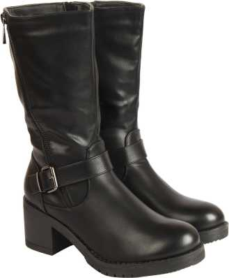 4bc7f30f35248 Knee High Boots - Buy Knee High Boots online at Best Prices in India ...