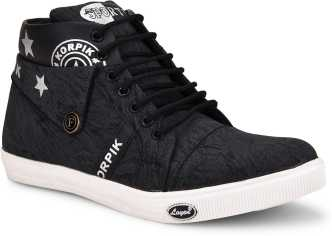 4d166a9ad0ca6 Black Sneakers - Buy Black Sneakers online at Best Prices in India ...