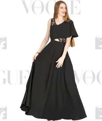 5e0fca8c6d One Piece Dress - Buy Designer Long One Piece Dress online at best prices -  Flipkart.com