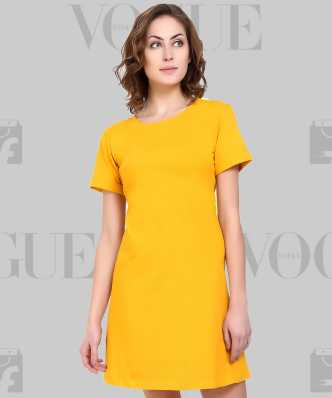 e5bd08b6a3a Tshirt Dress Dresses - Buy Tshirt Dress Dresses Online at Best Prices In  India