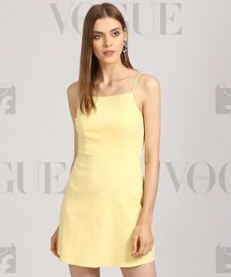 91578a4de5bd Yellow Dresses - Buy Yellow Dresses Online at Best Prices In India ...