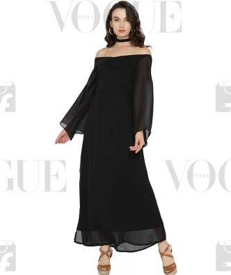 a87e0e2d488a5 Off the Shoulder Dress - Buy Off the Shoulder Dresses Online at Best Prices  In India