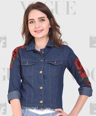 Denim Jackets Buy Jean Jackets For Women Men Online At Best