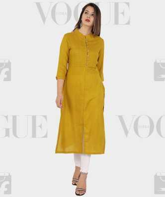 2bcc96281 Yellow Kurtis - Buy Yellow Kurtis Online at Best Prices In India ...