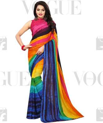feea905d466 Pure Georgette Sarees - Buy Pure Georgette Sarees Online at Best Prices In  India