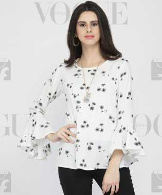 27f637de35f White Tops - Buy White Tops For Women Online at Best Prices In India ...