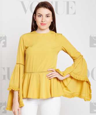 dd5f0fa18878a2 Ruffles Tops - Buy Ruffles Tops Online at Best Prices In India ...