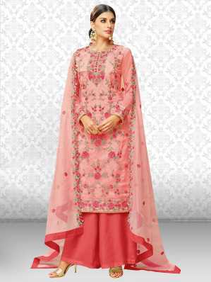 d5b0d00b8 Semi Stitched Salwar Suit Dupatta Material Dress Materials - Buy ...