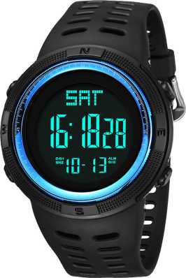 Honey Mens Watch Led Digital Date Sports Army Males Quartz Watch Outdoor Electronics Men Clock For Sports Wristband Running Gift Watches