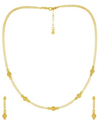 eef5ca41e Gold Necklace - Buy Gold Chain Necklace online at Best Prices in ...