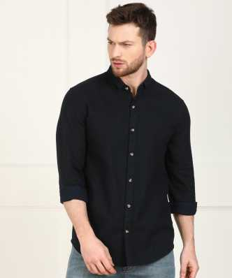 c794c922695c0 Black Shirts - Buy Black Shirts Online at Best Prices In India ...