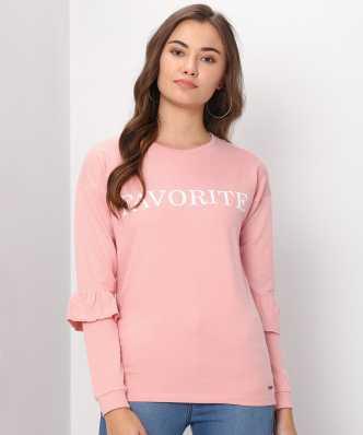 44c598fb8 Sweatshirts - Buy Sweatshirts   Hoodies for Women Online at Best ...