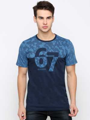 53b3a0a9d628 Blue Tshirts - Buy Blue Tshirts Online at Best Prices In India ...