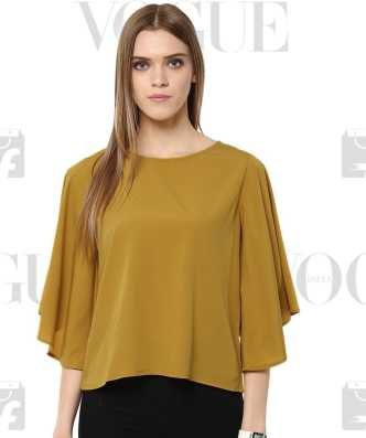 5a25421af33 Yellow Tops - Buy Summer Yellow Tops Online at Best Prices In India ...