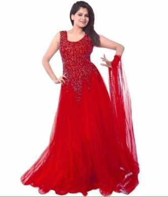 97bf8680eb44 Red Gowns - Buy Red Gowns Online at Best Prices In India