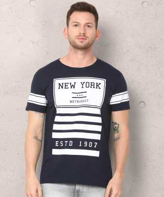 9755970dd Round Neck T Shirts for Men's Online at Best Prices In India ...