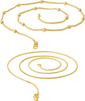 Gold Chains - Gold Chains Designs for Women/Men Online At Best