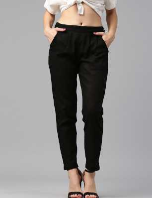 c4c2ddc7e25 Womens Trousers - Buy Trousers for Women Online at Best Prices In India