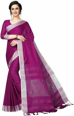 191722b8d6 Linen Sarees - Buy Linen Sarees Online at Best Prices In India ...