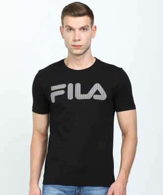 fc09664a43 Fila Tshirts - Buy Fila Tshirts Online at Best Prices In India ...
