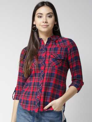 5591487d1c747 Women's Shirts Online at Best Prices In India|Buy ladies' shirts from best  brands | Flipkart.com