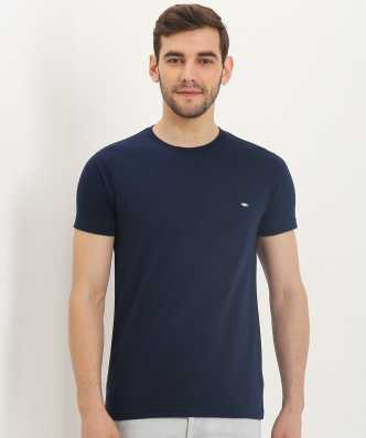 eaf6126fd64 Blue Tshirts - Buy Blue Tshirts Online at Best Prices In India ...