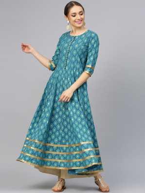 e80cb667336 Cotton Anarkali Kurtis - Buy Cotton Anarkali Kurtis online at Best ...