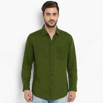 dc1277bd4262 Linen Shirts - Buy Linen Shirts online at Best Prices in India ...
