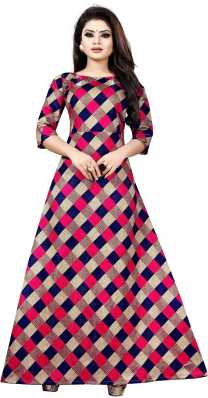 fbe4b0a3e Pink Gowns - Buy Pink Gowns Online at Best Prices In India ...