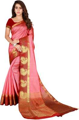 9e8d906e613b0 Peach Color Sarees - Buy Peach Color Sarees online at Best Prices in India