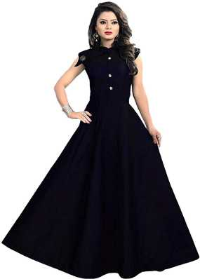 43760fa7fdcf Blue Gowns - Buy Blue Gowns Online at Best Prices In India ...