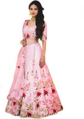 4b0d211807303 Pink Lehenga - Buy Pink Lehenga Cholis Online at Best Prices In India