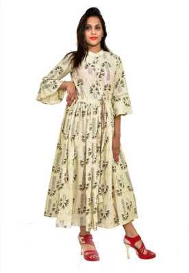 0edb89b293c0 Cotton Anarkali Kurtis - Buy Cotton Anarkali Kurtis online at Best Prices  in India   Flipkart.com