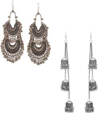 99cf80de8615f Silver Earrings - Buy Silver Earrings Online | Silver Stud Earrings ...