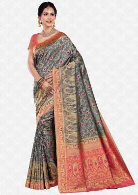 b1706c686e219b Soft Silk Sarees - Buy Soft Silk Sarees online at Best Prices in ...