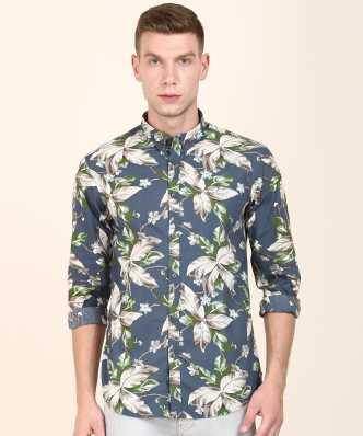 1668f744c Men Floral Print Casual Spread Shirt. ₹649. ₹2,299. 71% off. Indian Terrain