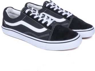ef490a59f03ea3 Vans Old Skool Black Shoes - Buy Vans Old Skool Black Shoes online ...