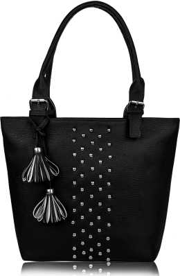 classcic lace up in latest style Black Handbags - Buy Black Handbags Online at Best Prices In ...