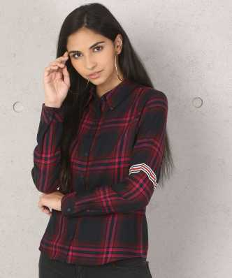 15e63d20f1 Women s Shirts Online at Best Prices In India